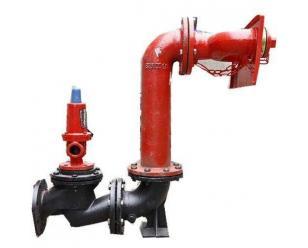 墙壁式水泵接合器