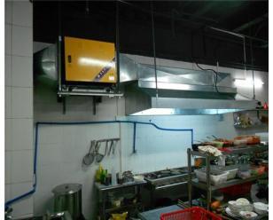 佰富高爾夫廚房凈化工程
