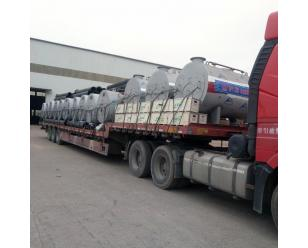 新疆阿克苏批量30台0.5吨燃气蒸汽锅炉