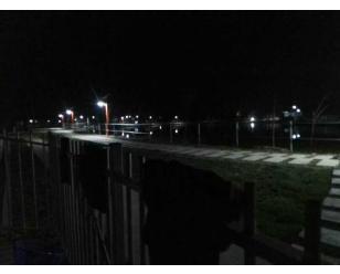 肥西农庄太阳能庭院灯