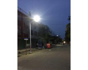 新集风光互补路灯
