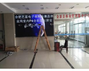 金寨县林业局全彩显示屏