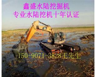 武汉水陆两用挖掘机