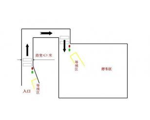 车位引导系统解决方案--单通道红绿灯控制系统
