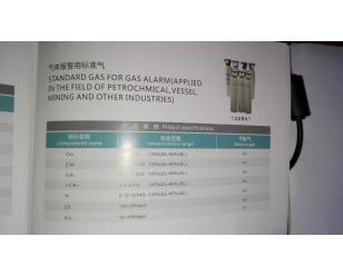 气体报警用标准气体介绍