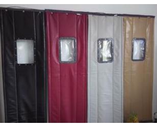 皮质棉门帘