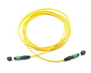 MPO(公头)-MPO(母头)12芯单模光纤跳线