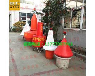景德镇景区航道规划浮标 塑料浮筒配套