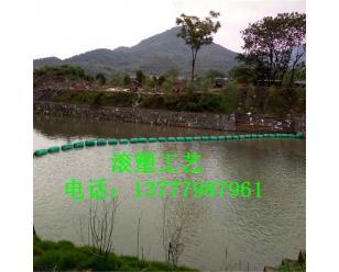 水电站拦污浮筒 滚塑一次成型浮体 pe材质浮筒方案