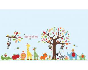 安徽幼儿园墙体彩绘
