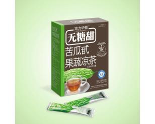 无糖甜苦瓜甙果蔬凉茶