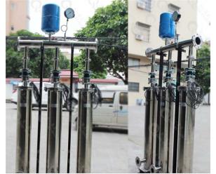 静音管中泵恒压供水