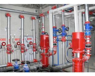 消防泵房水泵维修改造