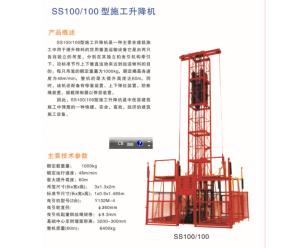 ss100-100物料提升机