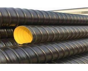 HDPE钢带螺旋增强波纹管