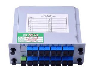 电信级1分16卡式分光器