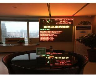 室内3.75双色LED显示屏