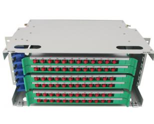 24芯机架式光纤配线架(ODF)