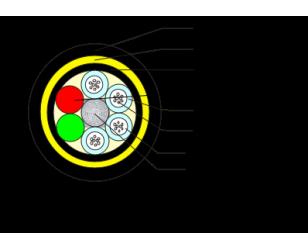 ADSS-12B1-PE-300光缆技术参数表