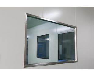 不锈钢双层洁净窗