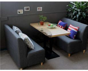 咖啡厅沙发定做