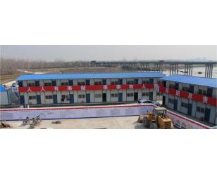 中国中铁商合杭项目板房6000平方