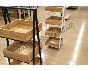 钢木结构展示架