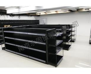 日式便利店平背板货架