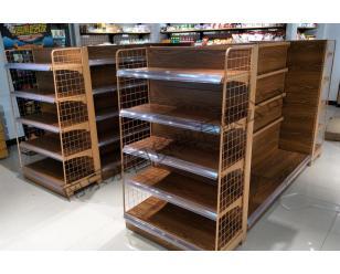 木纹款商超货架