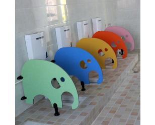 厂家直销富滋雅幼儿园卫生间小挡板儿童厕所隔断防潮板材