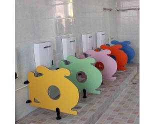 富滋雅幼儿园厕所隔断防潮防水小挡板儿童专用小隔板厂家直供