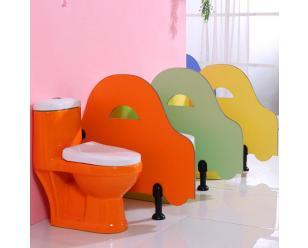 幼儿园小朋友卫生间小便挡板厕所挡板洗手间隔断隔板防潮防水