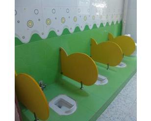 幼儿园厕所隔板厕所卫生间小便挡板卡通隔板儿童小便池挡板抗倍特