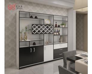 富滋雅多功能客厅红酒柜定制简约现代餐边柜储物柜玄关柜