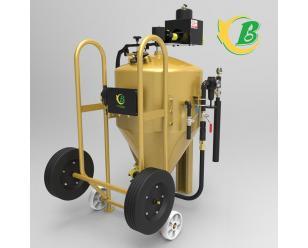 DB800无尘桶式液体喷砂机