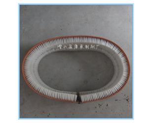 皮带刷同步皮带毛刷高低刷毛 清洗尼龙电机厂除锈抛光铜丝皮带刷